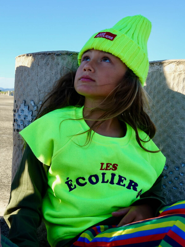 Les Écoliers Sudadera Fluor