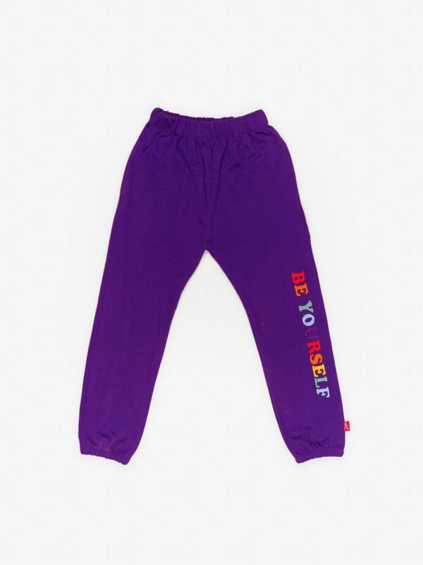 "PURPLE JOGGING ""BEYOURSELF"""