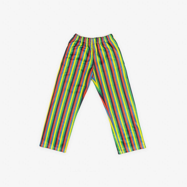STRIPED GREEN TROUSERS