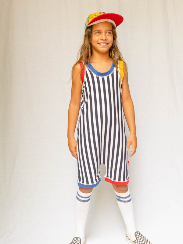 Les Écoliers striped jumpsuit