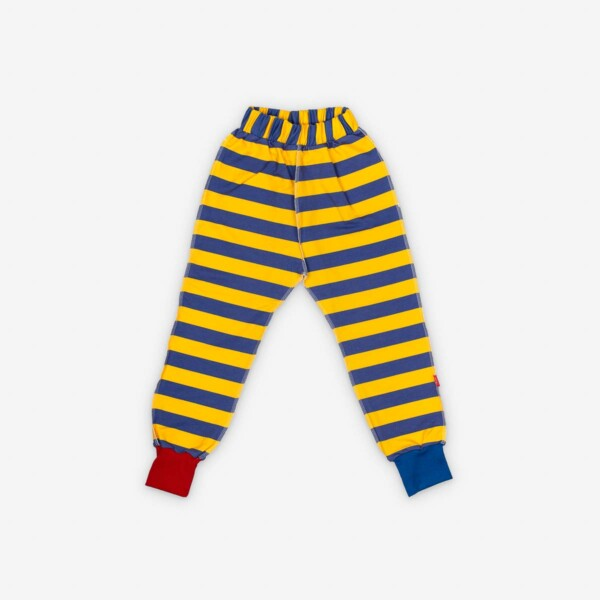 striped-jogger-yellow-blue